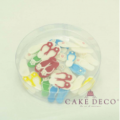Cake Deco Beach Shoes in various colors (20pcs)