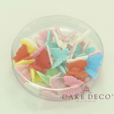 Cake Deco Butterflies in various colors (30pcs)