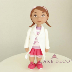 Cake Deco Small Doctor