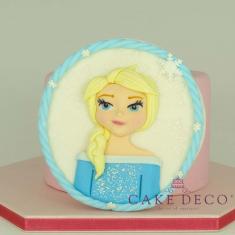 Πλακέτα Πριγκίπισσα του πάγου (εμπνευσμένο από την φιγούρα της Disney Έλσα)
