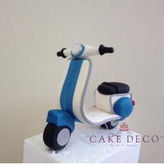Cake Deco Vespa