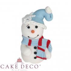 Χιονάνθρωπος με σκουφάκι - Μοντελαρισμένο