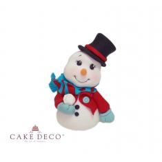 Χιονάνθρωπος με Καπέλο - Μοντελαρισμένο