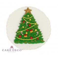 Handmade plaquette topper 'Xmas Tree'