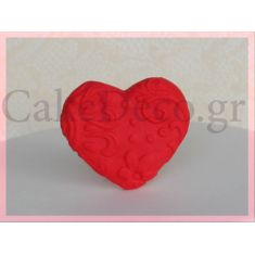 Heart with Stencil pattern