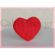 Καρδιές ζαχαρόπαστας με σχέδιο Stencil