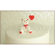 Teddy Bear Beige- White