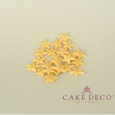 Μικρά χρυσά αστεράκια 2εκ. (10τεμ.)