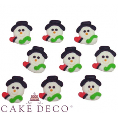 Little snowman face (Set 8pcs)