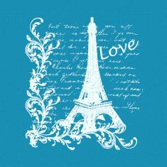 Paris Painting Small Mesh Stencil