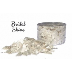 Bridal Shine White Pearl Edible Flakes
