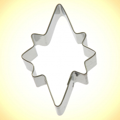 Star of Bethlehem Cookie Cutter 3.5in