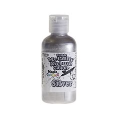 Metallic Airbrush Color by Magic Colours - Silver 55ml