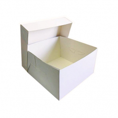 White Cake Box 15x15x6in.