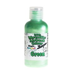 Metallic Airbrush Color by Magic Colours - Green 55ml