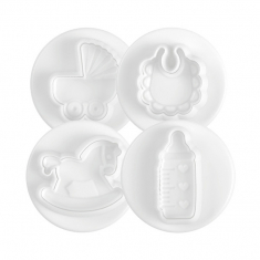 Sweet baby small cutters set 4 pcs