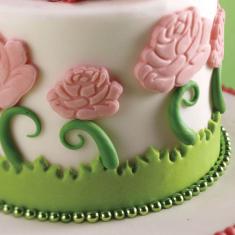 Kit dough cutter rose 3 pcs