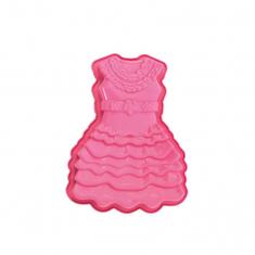 Φόρμα Σιλικόνης της Pavoni για ψήσιμο κέικ σε σχέδιο Φόρεμα