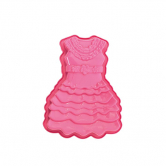 Dress Cake Silicone Mold by Pavoni