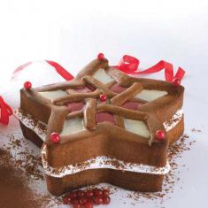 Φόρμα Σιλικόνης Διακοσμητικό Αστέρι της Pavoni για ψήσιμο κέικ