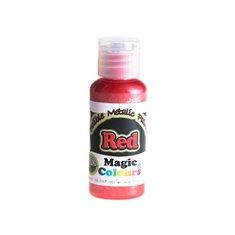 Μεταλλικό Υγρό Χρώμα της Magic Colours - Κόκκινο 32ml (Metallic Red)