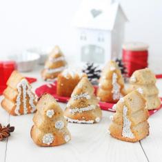 Φορμάκια Σιλικόνης Χριστουγεννιάτικα Δεντράκια από την Pavoni