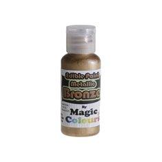 Μεταλλικό Υγρό Χρώμα της Magic Colours - Μπρονζέ 32ml (Metallic Bronze)