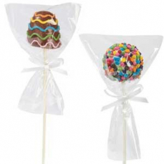 Polysterene bag for cookies/Cake Pops 10x15cm 75gr (~50pcs)