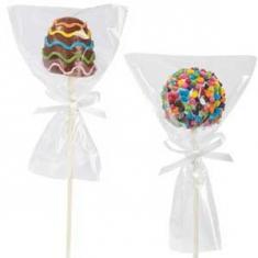 Polysterene bag for cookies/Cake Pops 10x15cm 75gr (~50pcs)