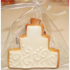 Σακουλάκι Μπισκότου / Cake Pop. Διαστ. 20εκ. x 30εκ. 253γρ (50τεμ)