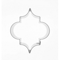 Moroccan Tile Pattern #1 Inox Cutter - 45x40mm