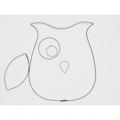 Owl Inox Cutter  set of 5