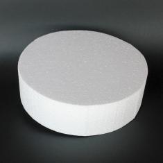 Styrofoam for Dummy cakes - Round Ø12xY10cm