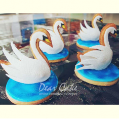 Swan Cookie Cutter 3.5 in