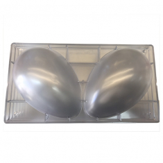 Half Egg Mould 20,5x13,5cm for two 250g Easter eggs