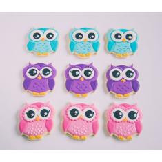 Metallic Cookie Cutter Cute Owl