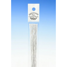 28 Gauge White Flower Wires (50Pcs)