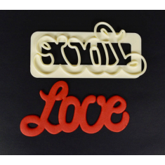 Αγάπη (Love) κουπάτ Καμπυλωτοί Χαρακτήρες της FMM