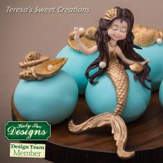 Mermaid Silicone Mold by Katy Sue