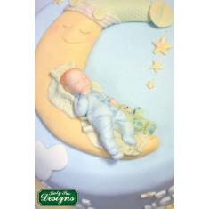 Καλούπι Σιλικόνης της Katy Sue - Μωράκι που κοιμάται - Αγόρι (Baby Boy)