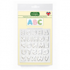 Domed Alphabet Silicone Mould