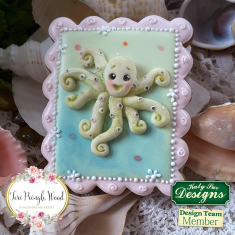 Octopus Sugar Buttons Silicone Mould