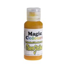 Edible Chocolate Colours from Magic Colours -  Yellow 32ml
