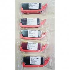 Βρώσιμo Μελάνι KopyForm Κόκκινο με Chip (CLI-571M)