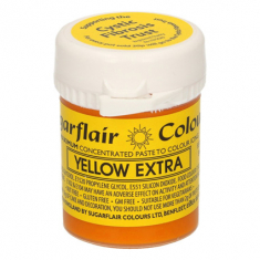 Yellow Extra 42gr Sugarflair Paste Concentrated Colors