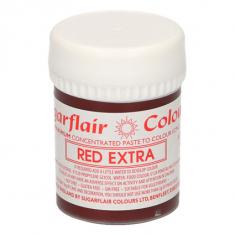 Έξτρα Κόκκινο Συμπυκνωμένο Βρώσιμο Χρώμα 42γρ της Sugarflair