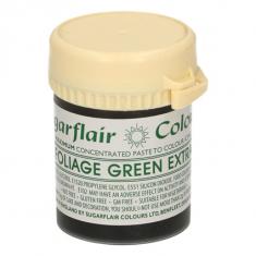 Έξτρα Πράσινο των φύλλων Συμπυκνωμένο Βρώσιμο Χρώμα 42γρ της Sugarflair