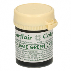 Foliage green Extra 42gr Sugarflair Paste Concentrated Colors