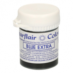 Blue Extra 42gr Sugarflair Paste Concentrated Colors