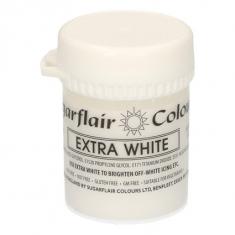 Έξτρα Λευκό Συμπυκνωμένο Βρώσιμο Χρώμα 42γρ της Sugarflair